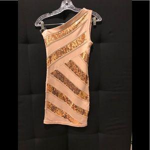 2B BeBe Bodycon Sequin Dress